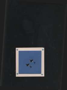 Card with Orca Brads